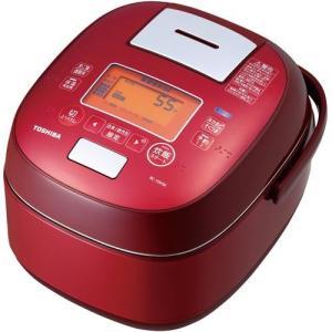 【長期保証付】東芝 RC-10VSK-R(グランレッド) 鍛造かまど銅釜 真空圧力IH炊飯器 5.5合
