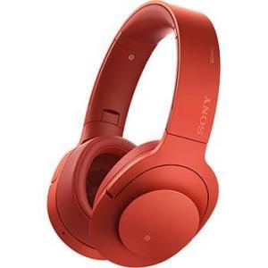 【長期保証付】ソニー MDR-100ABN-R(シナバーレッド) h.ear on Wireless NC Bluetoothヘッドホン|ebest
