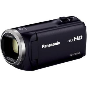 【長期保証付】パナソニック HC-V360MS-K(ブラック) デジタルハイビジョンビデオカメラ 16GB|ebest