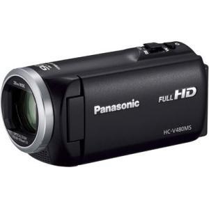 【長期保証付】パナソニック HC-V480MS-K(ブラック) デジタルハイビジョンビデオカメラ 32GB