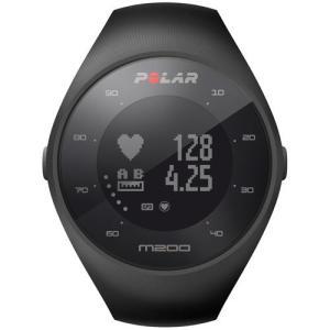 【長期保証付】Polar 90061200(ブラック) M200 M/L GPSランニングウォッチ 腕時計タイプ|ebest