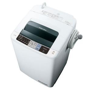 【設置+リサイクル+長期保証】日立 NW-80A-W(ピュアホワイト) 白い約束 全自動洗濯機 上開き 洗濯8kg|ebest