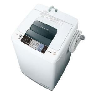 【設置+リサイクル+長期保証】日立 NW-70A W(ピュアホワイト) 白い約束 全自動洗濯機 上開き 洗濯7kg|ebest