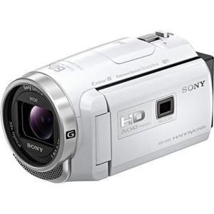 【長期保証付】ソニー HDR-PJ680-W(ホワイト) デジタルHDビデオカメラレコーダー 64GB|ebest