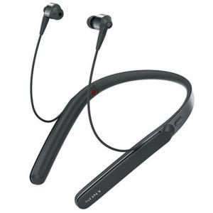 【長期保証付】ソニー WI-1000X-B(ブラック) ワイヤレスノイズキャンセリングステレオヘッドセット|ebest
