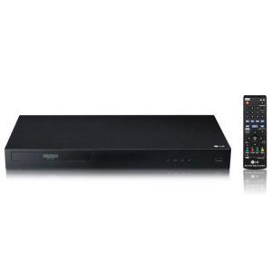 【長期保証付】LGエレクトロニクス UBK80 4K Ultra HD ブルーレイディスクプレーヤー ebest