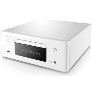 【長期保証付】DENON RC-DN10-W(ホワイト) HEOS対応オールインワン・ネットワークCDレシーバー|ebest
