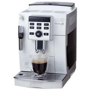 【長期保証付】デロンギ ECAM23120WN(ホワイト) コーヒーメーカー マグニフィカS|ebest