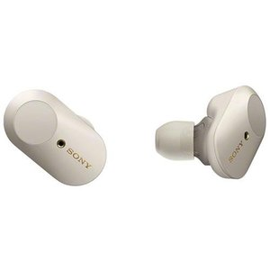 【長期保証付】ソニー WF-1000XM3-S(プラチナシルバー) ワイヤレスノイズキャンセリングステレオヘッドセット|ebest