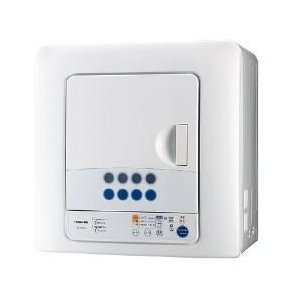 【設置+リサイクル】東芝 ED-45C-W(ピュアホワイト) 衣類乾燥機 4.5kg|ebest