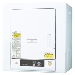 【設置+リサイクル】日立 DE-N40WX(ピュアホワイト) 衣類乾燥機 4kg|ebest