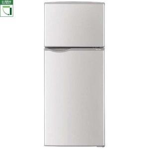 【設置+リサイクル】シャープ SJ-H12B-S(シルバー) 2ドア冷蔵庫 右開き 118L|ebest