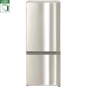 【設置+リサイクル】アクア AQR-U18F-S(ステンレスシルバー) 2ドア冷蔵庫 右開き 184L|ebest