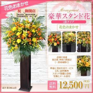花 お祝いスタンド花 木製スタンド180cm位 花色はプロにお任せ 12500円(税別) あすつく お届け地域は東京都・神奈川県(一部除く) 開店祝い、オープン【wd】|ebina-youran|06