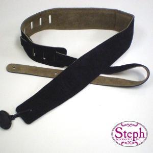 STEPH ステフ ストラップ #2029 BK スエード シリーズ|ebisound