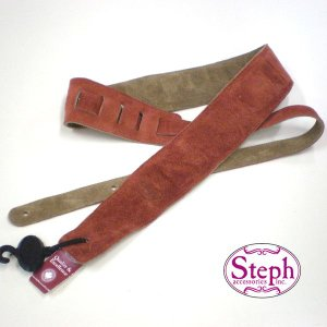 STEPH ステフ ストラップ #2029 RUST スエード シリーズ|ebisound