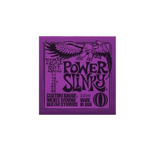 ERNIE BALL アーニーボール エレキギター弦 #2220 Power Slinky 〔3セット〕 【ネコポス送料210円】 【代引きの場合送料¥580】|ebisound