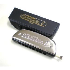 HOHNER ホーナー Chrometta 8 250/32 クロマチックハーモニカ|ebisound