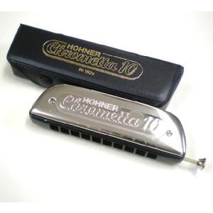 HOHNER ホーナー Chrometta 10 253/40 クロマチックハーモニカ|ebisound