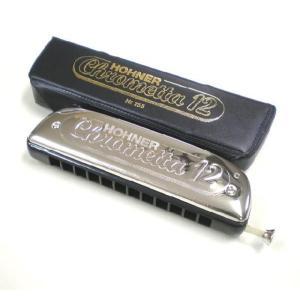 HOHNER ホーナー Chrometta 12 255/48 クロマチックハーモニカ|ebisound