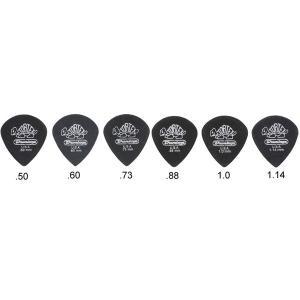 JIM DUNLOP ジム ダンロップ ピック 482R TORTEX BLACK JAZZIII SHARP 36枚セット 【ネコポス送料210円】 【代引きの場合送料¥580】 【旧速達メール便】|ebisound