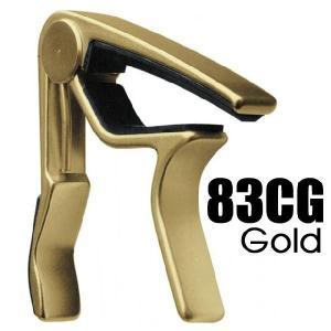 ダンロップ カポタスト 83CG ゴールド DUNLOP Trigger Acoustic Curved Gold 【ネコポス(旧速達メール便)送料230円】|ebisound