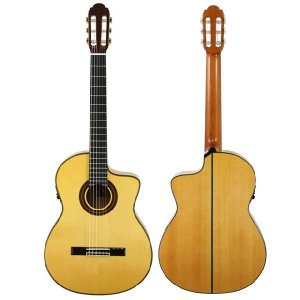 ARIA アリア フラメンコギター A-120F CWF スタンド付 ebisound