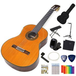 ARIA アリア クラシックギター A-20 初心者 入門 11点セット ebisound