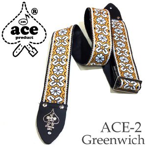 ACE エース ストラップ ACE-2 Greenwich by D'Andrea|ebisound