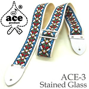 ACE エース ストラップ ACE-3 Stained Glass by D'Andrea|ebisound