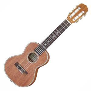 【アウトレット】Aria アリア 6弦テナーウクレレ ATU-180/6W MH G-Uke ナット幅47mm 限定モデル ミニギター アウトレット特価 送料無料|ebisound