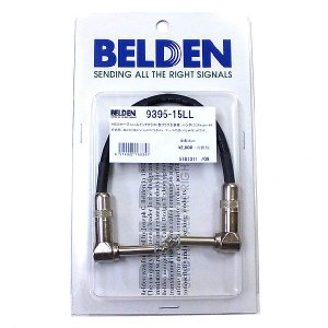 BELDEN #9395 パッチケーブル 15cm L/L ギター用 ケーブル シールド|ebisound