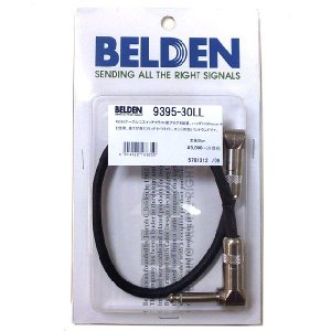 BELDEN #9395 パッチケーブル 30cm L/L ギター用 ケーブル シールド|ebisound