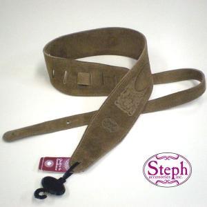 STEPH ステフ ストラップ BS-319 TAN スエード シリーズ|ebisound