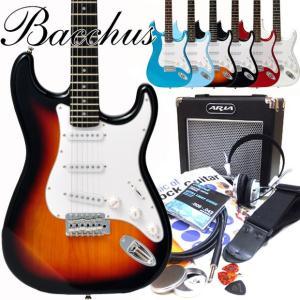 エレキギター 初心者セット Bacchus バッカス BST-1R 15点セット |ebisound