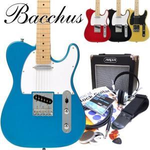 エレキギター 初心者セット Bacchus バッカス BTE-1M 15点セット |ebisound