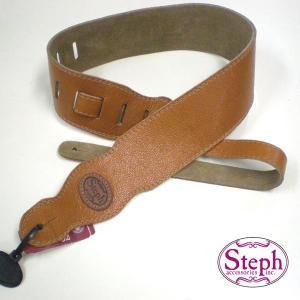 STEPH ステフ ストラップ C-914 TAN カウヒード シリーズ|ebisound