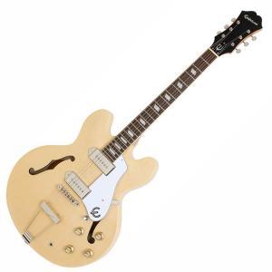 エピフォン Epiphone by Gibson カジノ CASINO ナチュラル NA セミアコ/フルアコ エレキギター 限定特価|ebisound