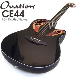 Ovation オベーション CE44-5 Black ブラック エレアコ アコギ アコースティックギター|ebisound