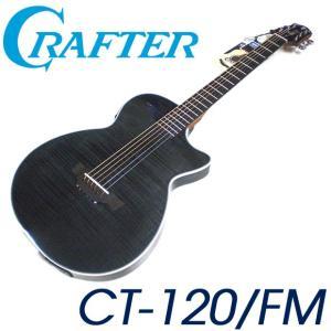 CRAFTER クラフター CT-120 FM TBK (Translucent Black) ブラック ソリッド エレアコ|ebisound