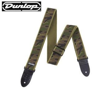 Dunlop ストラップ D38-33GN GI CAMMO|ebisound