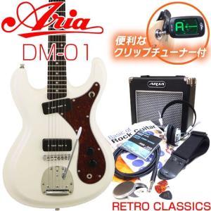 エレキギター 初心者セット 入門セット Aria DM-01/VW 入門セット15点 ebisound