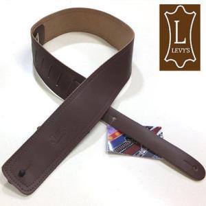 Levy's レビース ストラップ DM1 BRN Leather|ebisound