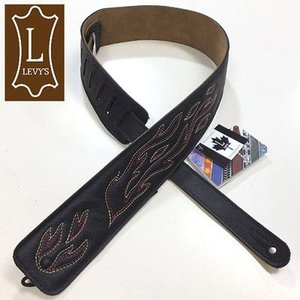 Levy's レビース ストラップ DM1SGF BLK Garment Leather|ebisound