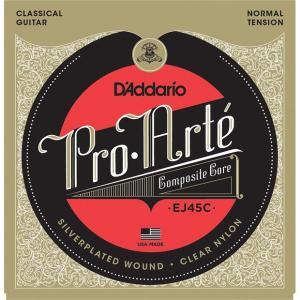 D'Addario Pro-Arte クラシックギター弦 EJ-45C コンポジット 〔2セット〕 【ネコポス(旧速達メール便)送料230円】|ebisound