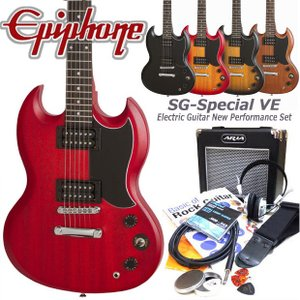 エピフォン  Epiphone SG-Special VE エレキギター 初心者 入門15点セット|ebisound