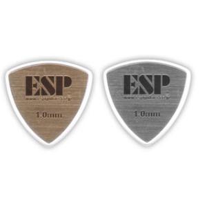 ESP ヘアラインピック トライアングル 1.0mm 50枚セット 【ネコポス送料210円】 【代引きの場合送料¥580】 【旧速達メール便】|ebisound