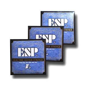 ESP エレキギター弦 GS-6L 〔3セット〕 【ネコポス(旧速達メール便)送料230円】|ebisound