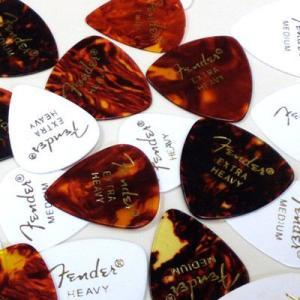 Fender フェンダー ピックおためし10枚セット 【ネコポス送料210円】 【代引きの場合送料¥580】 【旧速達メール便】|ebisound
