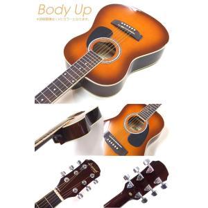 ミニギター アコギ Legend FG-15 1/2 アコースティックギター 初心者 超入門 8点セット|ebisound|04